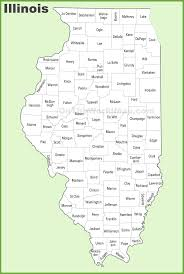 illinois county map