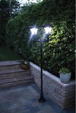 garden path lights. Victorian Solar Outdoor Lighting Twin Head Garden Path Lamp Post Lantern Light Lights A