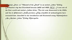 indus valley civilization mohenjo daro 5