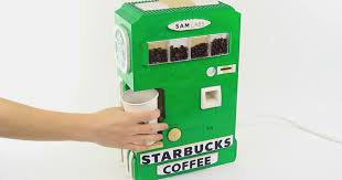 Starbucks Vending Machine Beauteous LEGO Coffee Starbucks Vending Machine By Astonishing Studios Is Nuts