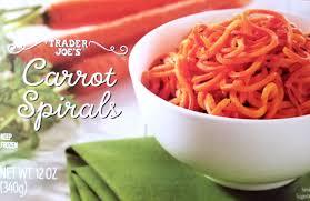 carrot spirals