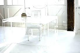 Acrylic office desk Boss Clear Office Desk Clear Acrylic Waterfall Vanity Danielmetcalfco Clear Office Desk Acrylic Computer Desk New Design Supreme Office