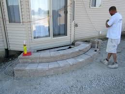 literarywondrous how to make patio steps with ideas installing paver patio base