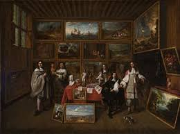 a picture gallery by gillis van tilborch 1660s