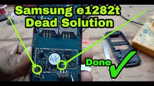 Samsung e1282t dead solution - YouTube