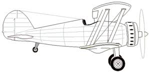Vliegtuig Kleurplaten Animaatjesnl