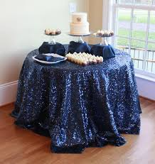108 round sparkly elegant navy blue sequin tablecloth for wedding christimas events decoration tablecloths uk linen tablecloths from onlyloveinlife