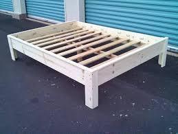 making a twin xl platform bed frame