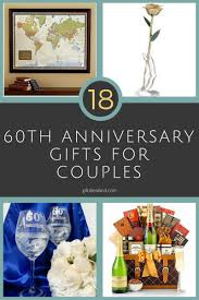18 best 60th anniversary gifts for happy couples