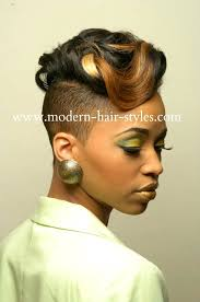 black women hairstyles of weaves braids and protective styles 6 side shaved