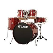 yamaha stage custom. yamaha stage custom birch drum shell pack in cherry red
