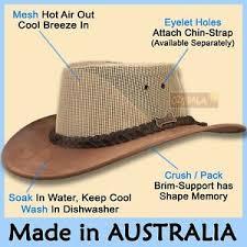 Details About Oztrala Jacaru Hat Pu Leather Felt Mens Women Australian Driza Bone Cowboy New