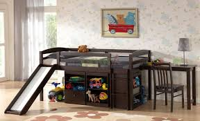 bunk bed with slide and desk. Best Bunk Bed With Slide And Desk Beds Home Design Ideas