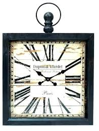 large rustic wall clock hobby lobby metal black clocks by w