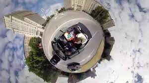 360 degree video / BIG day on a tiny planet - YouTube
