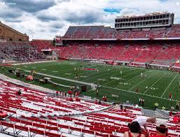 Wisconsin Badger Football Stadium Seating Chart Camp Randall Stadium Q Seat Views Seatgeek