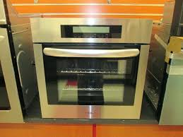 24 inch gas wall oven stainless steel single maytag built in double
