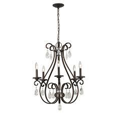 lighting stunning bronze chandeliers with crystals 24 811874020526 bronze chandeliers with crystals