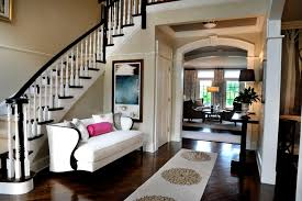 foyer ideas decorating entry traditional with pink throw pill on foyer entry with colorful runner and