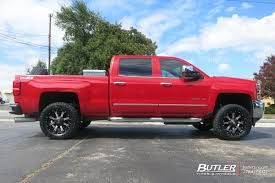 Chevrolet Silverado with 20in Fuel Nutz Wheels exclusively from ...