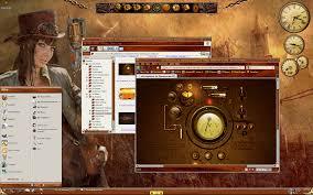 steampunk desktop by capnshortstack on deviantart