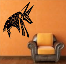 Small Picture Egyptian God Anubis Vinyl Wall Decal Sticker Art Decor Bedroom