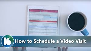 Kelsey Seybold Virtual Health How To Schedule A Video Visit Youtube