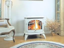 free standing ventless propane gas fireplace stove redo rear vent
