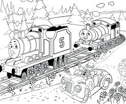 The Train Coloring Pages The Train Coloring Pages Free Thomas And