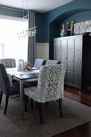grey dining room chairs. luve it dining room reveal by teal \u0026 grey chairs