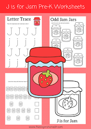 Free Download Letter Letter J Worksheets For Preschoolers Free Download The