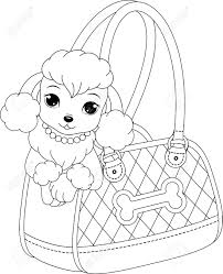 Small Picture Poodle Coloring Page Within Inside Pages itgodme