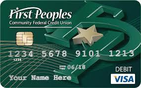 first peoples visa debit card