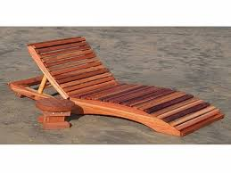 wooden outdoor chaise lounge chairs contemporary wood ideas home throughout 18