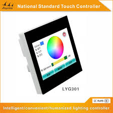 new rgb 3 ch touch screen controller for led smart lighting