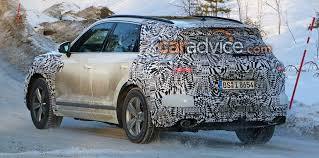 2018 volkswagen touareg. plain 2018 like the recently unveiled arteon thirdgeneration touareg features a  grille that blends into multipart headlights unlike new  throughout 2018 volkswagen touareg