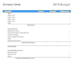 Easy Monthly Budget Template Basic Excel Budget Template