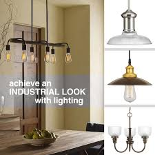 lighting industrial look. Achieve An Industrial Look With Lighting N