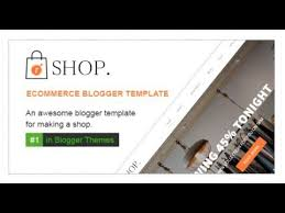 Free Ecommerce Website Templates Inspiration Rshop Ecommerce Responsive Blogger Template Themeforest