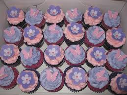 Butterfly Amp Flowers Baby Shower Cupcakes