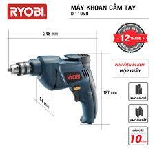 Máy khoan cầm tay đa năng điện 500W RYOBI (KYOCERA) - D-110VR - Máy khoan