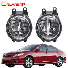 Toyota Camry 2007 Light Bulb Us 23 29 44 Off Cawanerl For Toyota Camry 2007 2012 H11 Car Accessories Led Fog Light Bulb 4000lm White 6000k Drl Daytime Running Lamp 12v In Car
