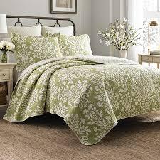 sage green quilt. Modren Sage Laura Ashley Rowland Sage Quilt Set In Green E