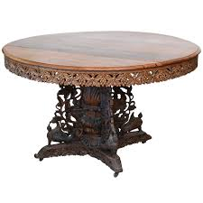 indian dining room furniture. Perfect Dining AngloIndian Teak And Padouk CenterDining Table Throughout Indian Dining Room Furniture