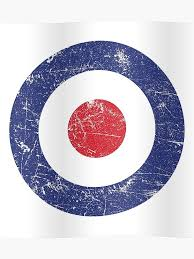Target Sock Size Chart Raf Roundel Air Force Target British Bullseye Distressed Poster