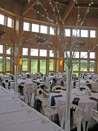 Wedding Setup In Scheels Living Room At Bluestem Center For