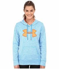 under armour women. nwt women under armour storm fleece big logo hoodie sweatshirt pullover blue m #underarmour # under armour