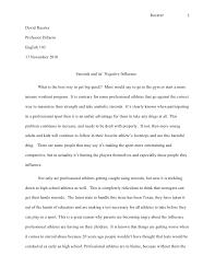 persusive essay finall racster 1david racsterprofessor disarroenglish 10317 2010 steroids