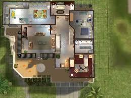 magnifique plan maison sims 4 24442365