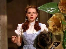 Image result for JUDY GARLAND AS DOROTHY